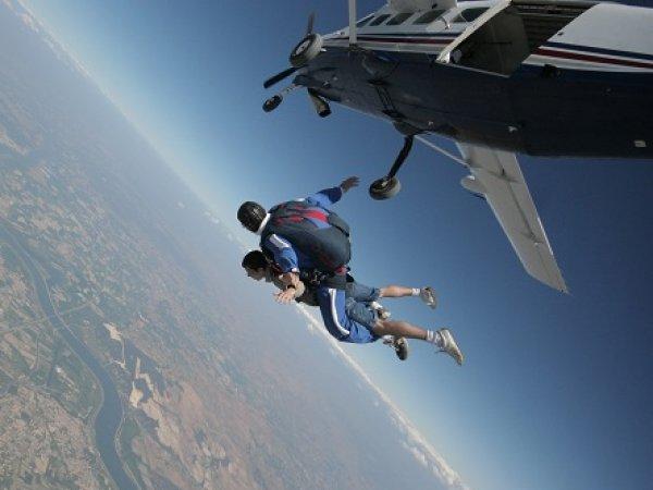 saut en parachute grand canyon