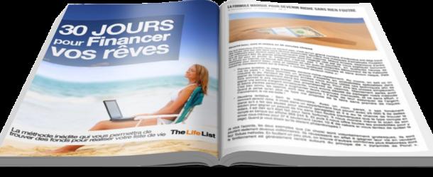 Introduction au programme 30 jours pour financer vos rêves