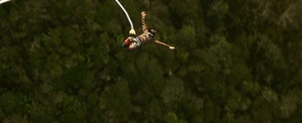 J'ai fait un saut à l'élastique en Afrique du Sud! 216m